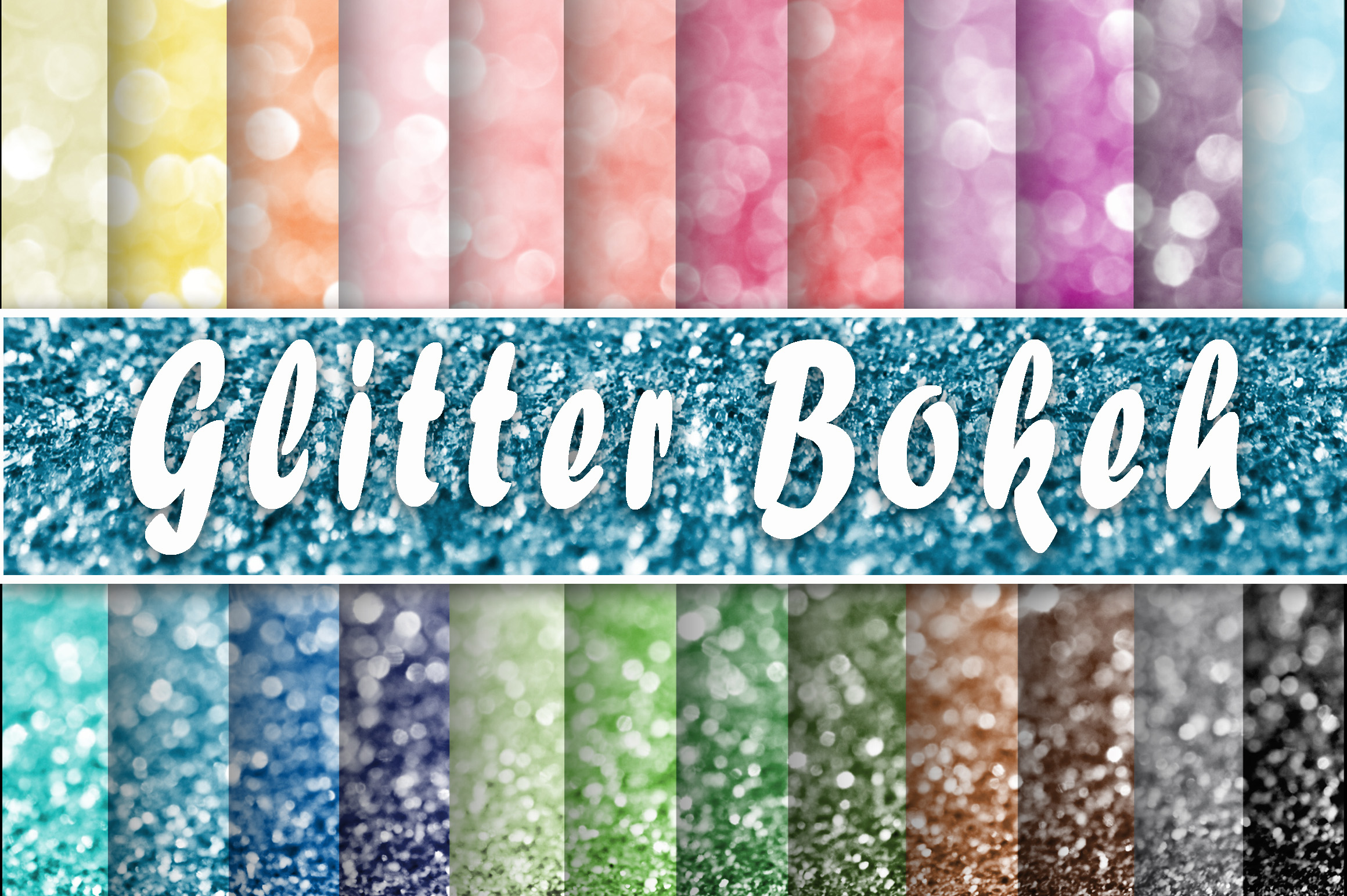 Download Free Glitter Bokeh Textures Digital Paper Graphic By Oldmarketdesigns for Cricut Explore, Silhouette and other cutting machines.