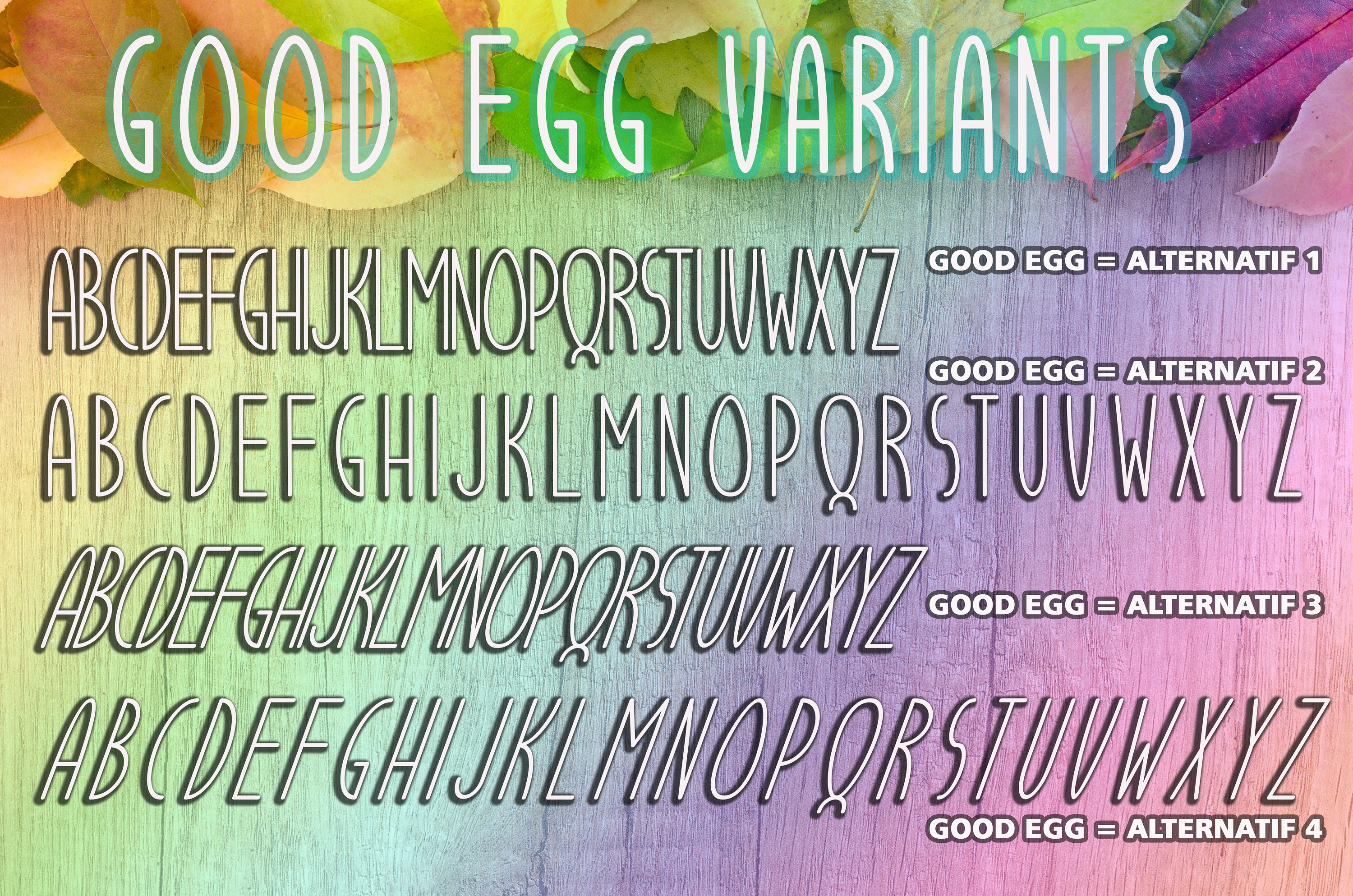 Good Egg Font By aldedesign Image 8