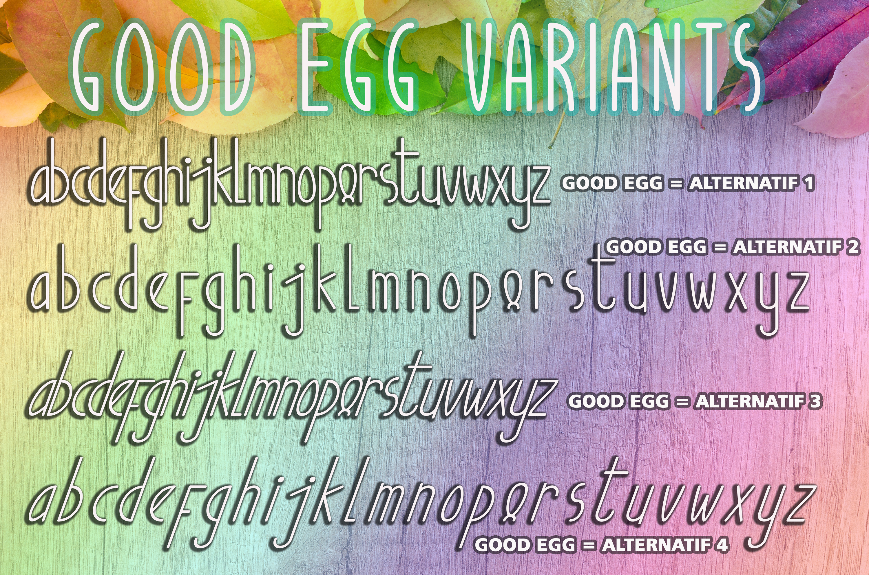 Good Egg Font By aldedesign Image 9