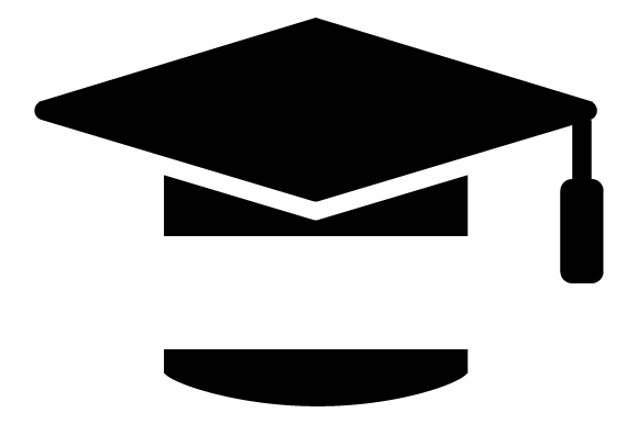 Download Free Graduation Cap Split Monogram Svg Cut File By Creative Fabrica for Cricut Explore, Silhouette and other cutting machines.