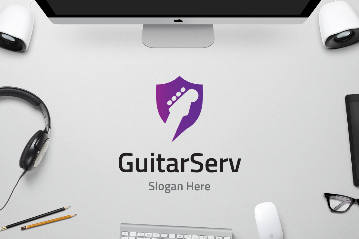 Guitar Service Graphic Logos By yip87 - Image 1