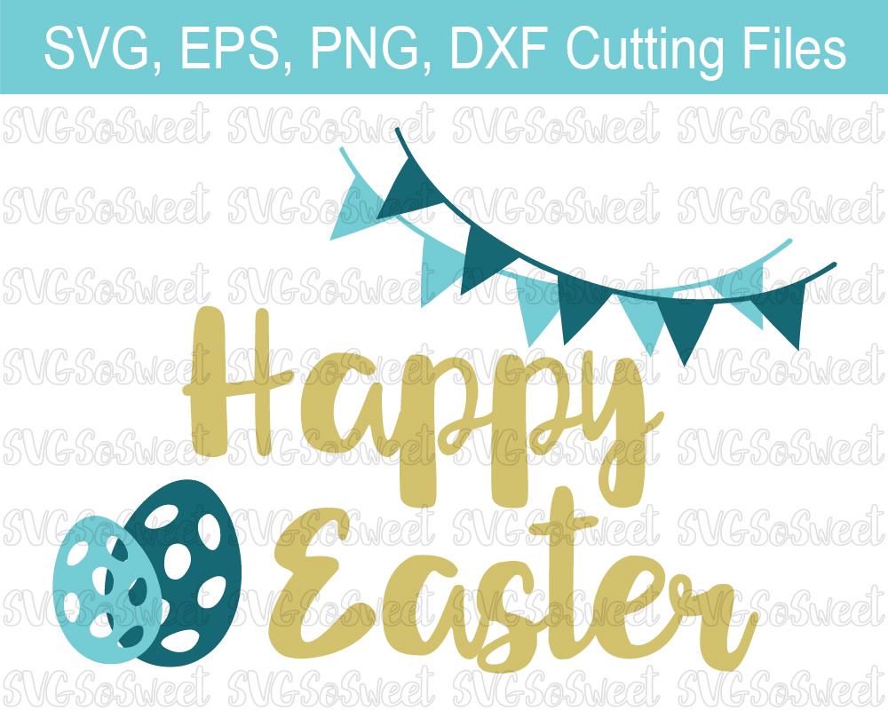 Happy Easter - Graphic Graphic By Southern Belle Graphics