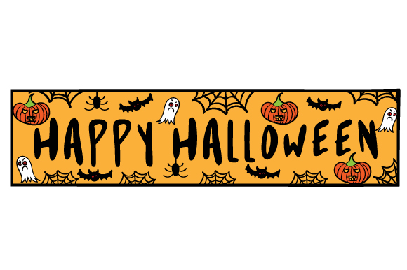 Download Free Happy Halloween Svg Cut File By Creative Fabrica Crafts for Cricut Explore, Silhouette and other cutting machines.