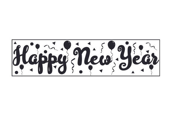 Download Free Happy New Year Svg Cut File By Creative Fabrica Crafts for Cricut Explore, Silhouette and other cutting machines.