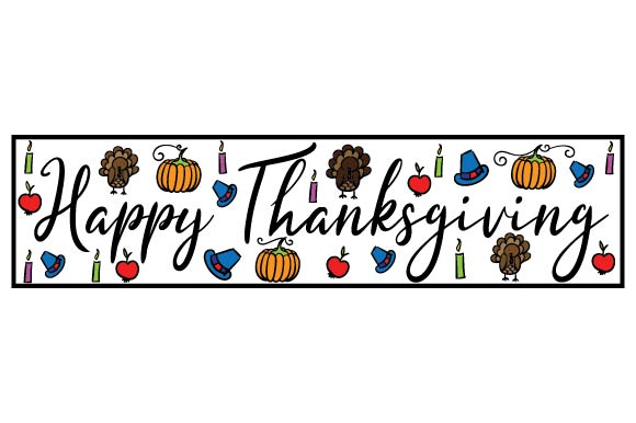 Download Free Happy Thanksgiving Svg Cut File By Creative Fabrica Crafts for Cricut Explore, Silhouette and other cutting machines.