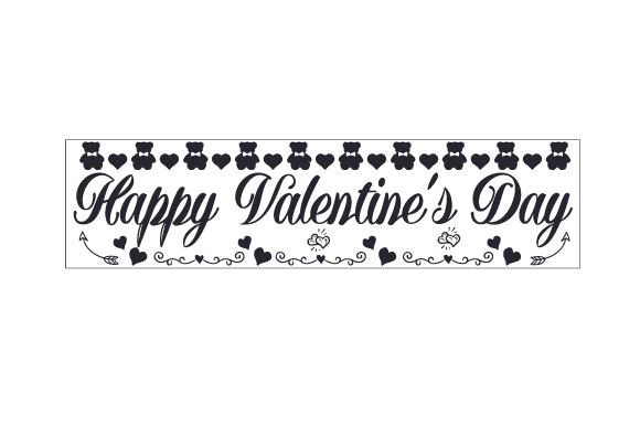 Happy Valentine S Day Svg Cut File By Creative Fabrica Crafts