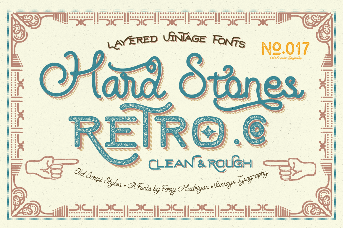 Print on Demand: Hard Stones Display Font By feydesign