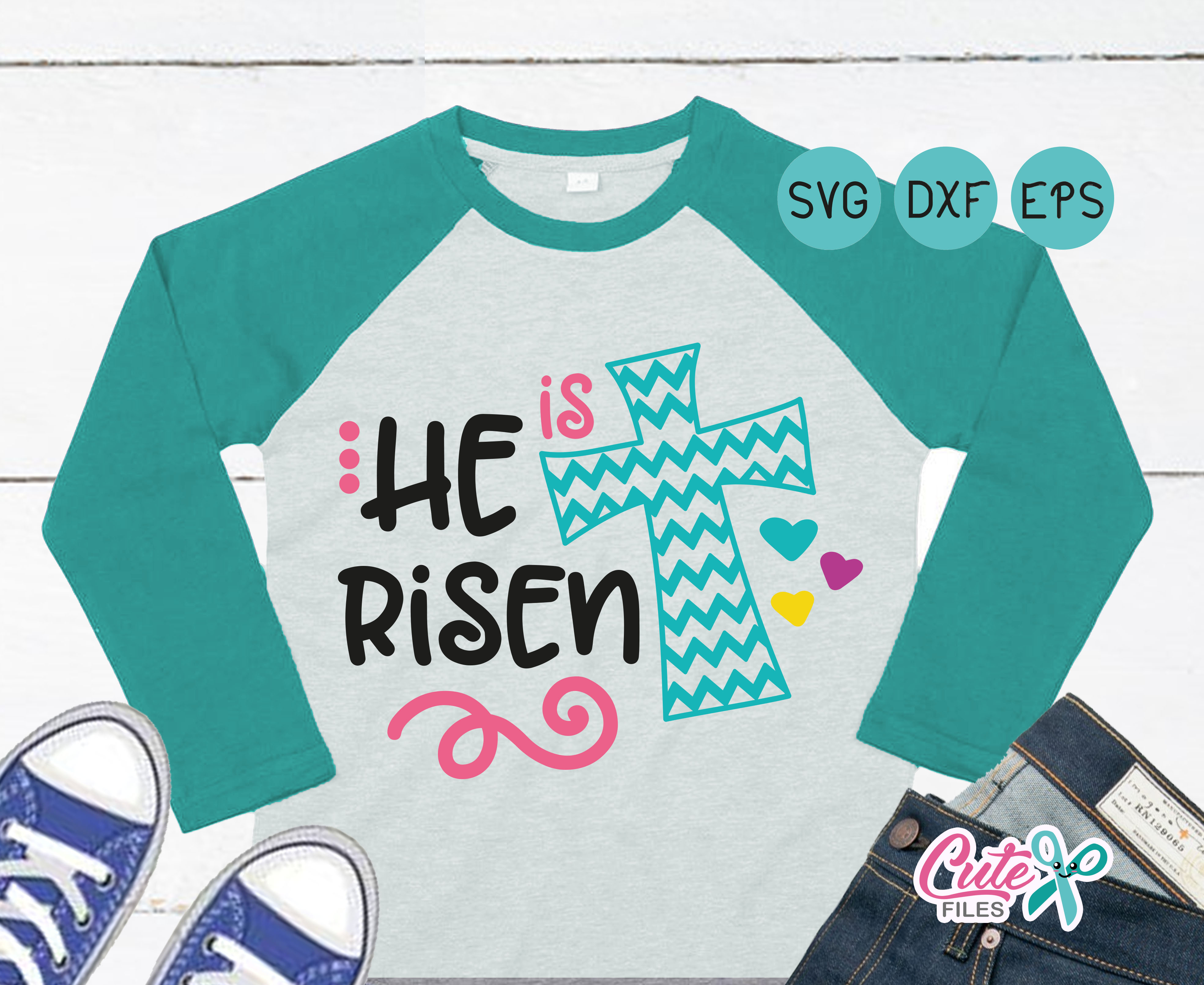 He is Risen Graphic Crafts By Cute files