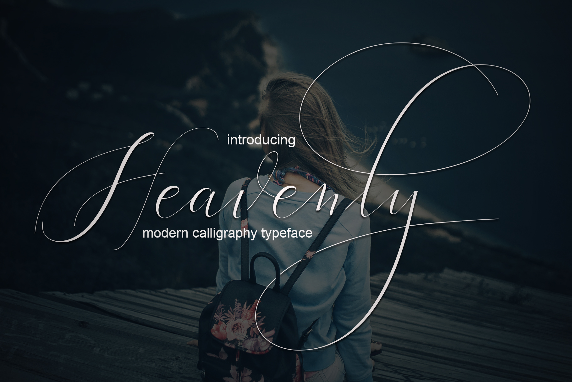 Heavenly Script Script & Handwritten Font By Mrletters