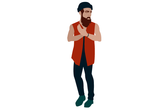 Download Free Hipster Guy Svg Cut File By Creative Fabrica Crafts Creative for Cricut Explore, Silhouette and other cutting machines.