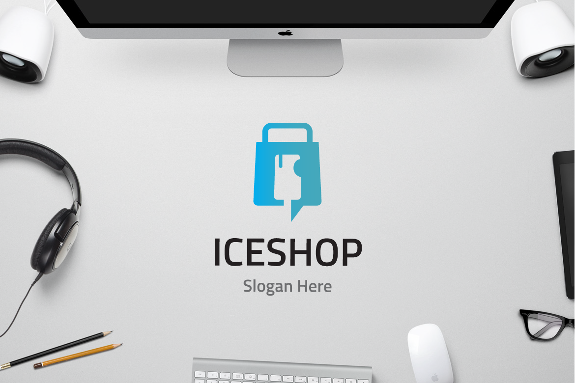 Ice Shop Graphic Logos By yip87