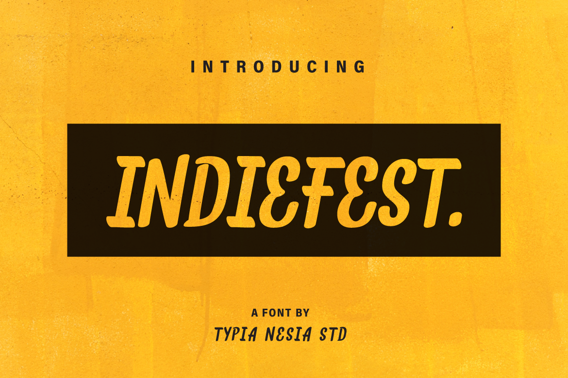Print on Demand: IndieFest Sans Serif Font By Typia Nesia - Image 1