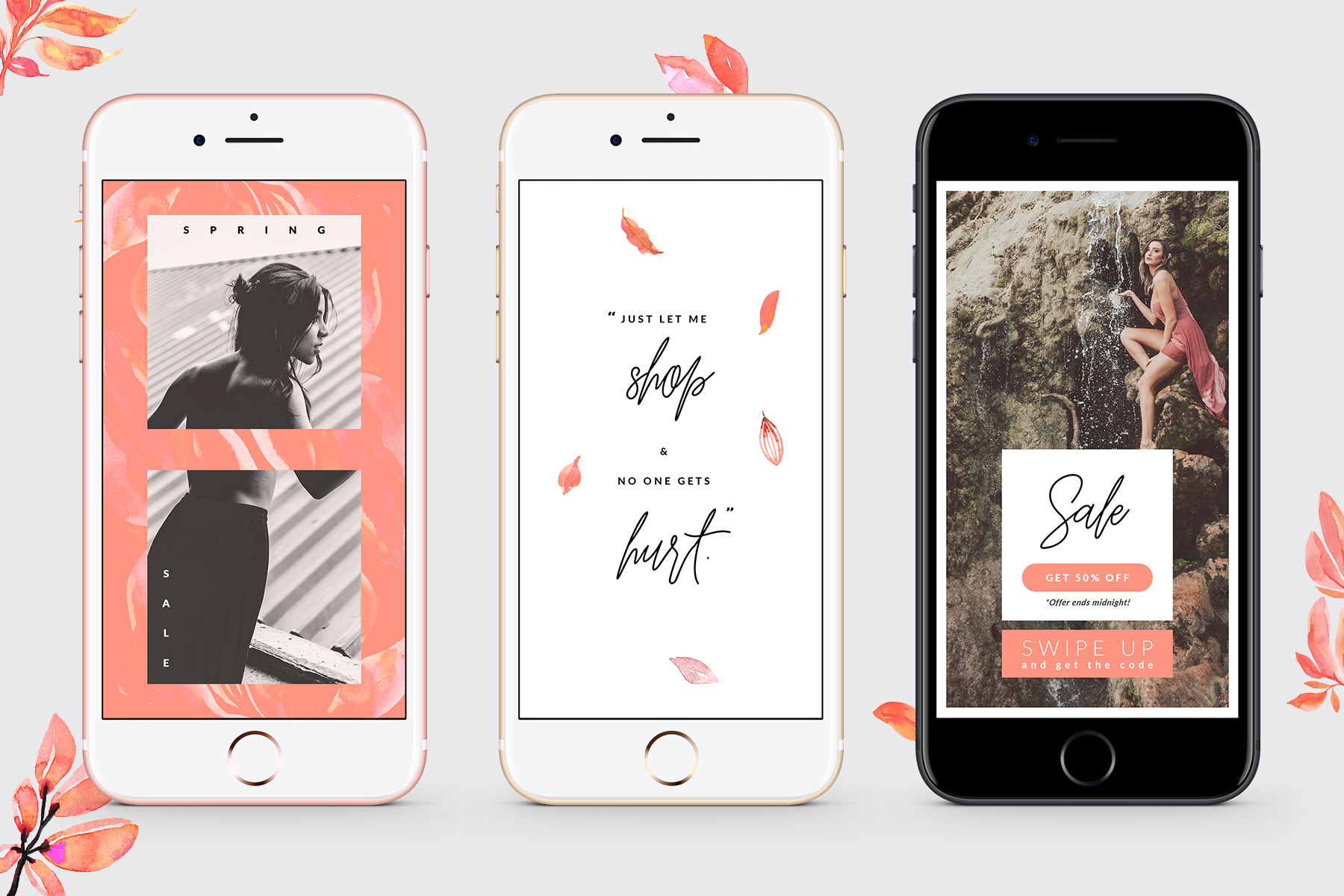 Instagram Stories - Lovely Blush Graphic By lavie1blonde Image 8