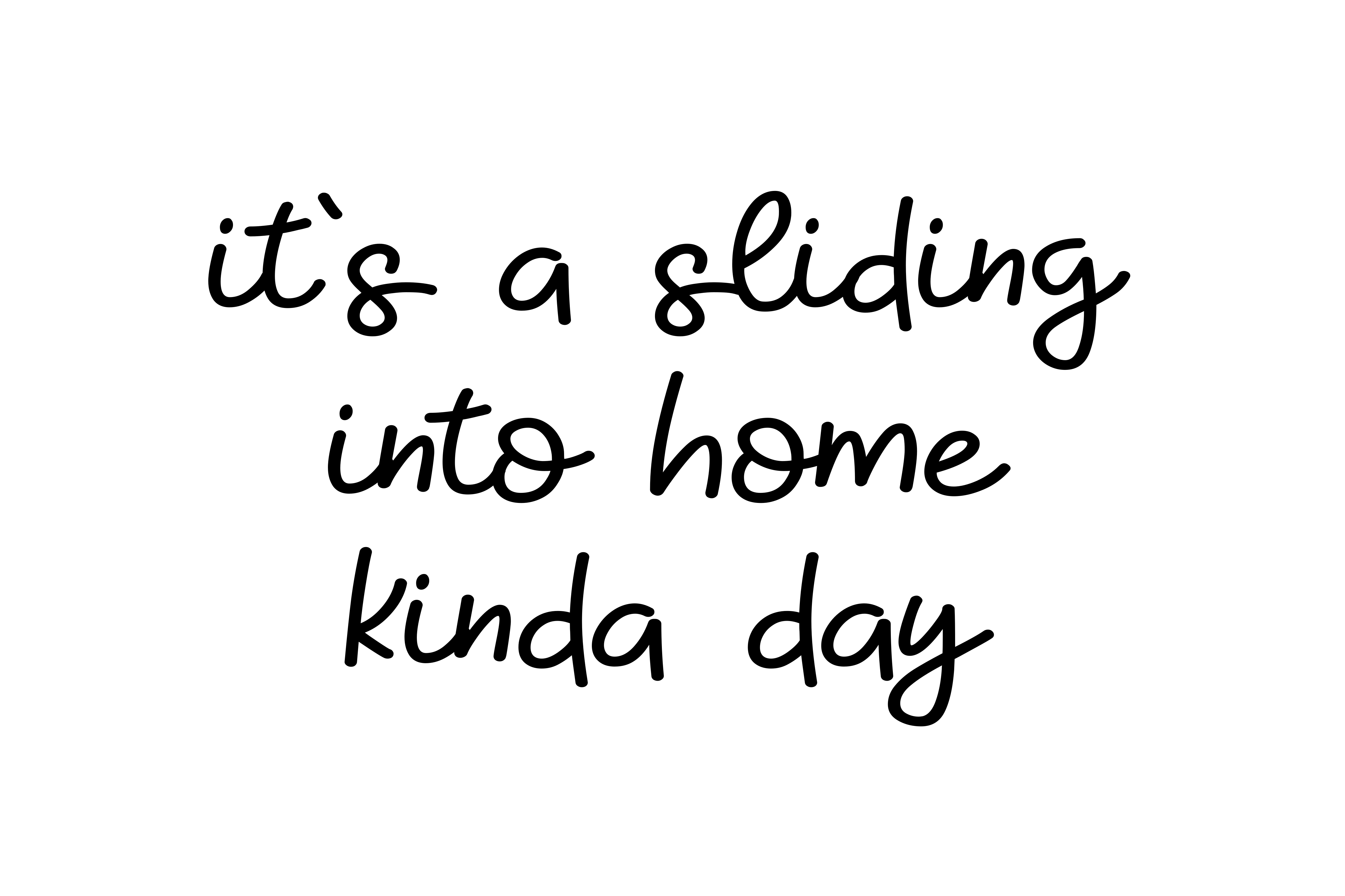 It's a Sliding into Home Kinda Day SVG Graphic Crafts By CrystalGiftsStudio