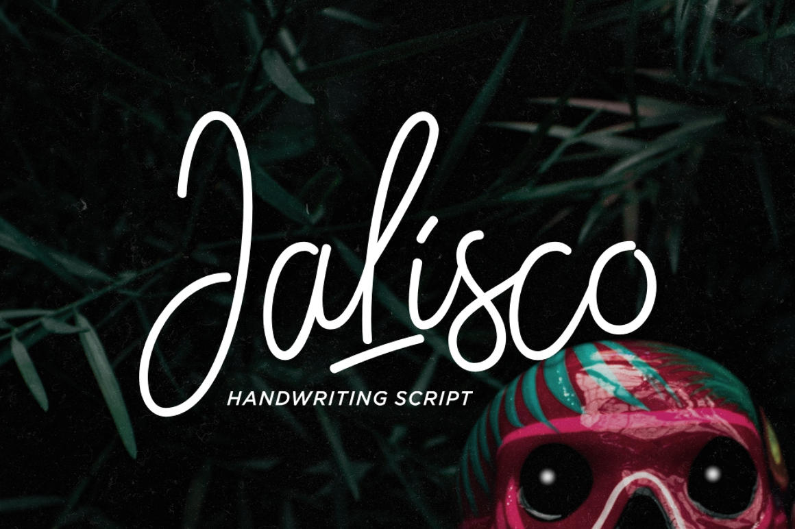 Print on Demand: Jalisco Script & Handwritten Font By Fontdation