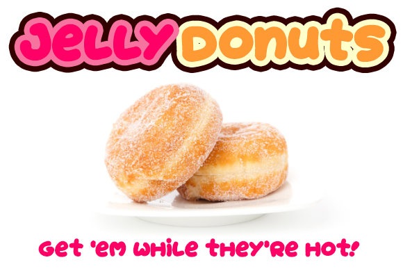 Print on Demand: Jelly Donuts Display Font By Dadiomouse - Image 4