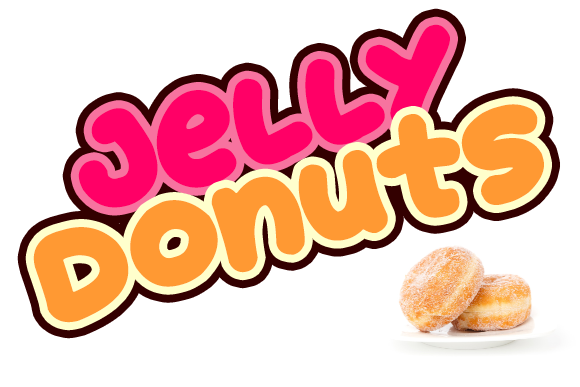 Print on Demand: Jelly Donuts Display Font By Dadiomouse