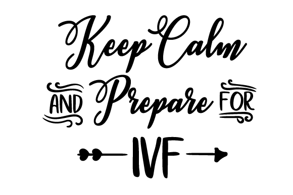 Keep Calm and Prepare for IVF SVG Cut Files - Free Download · Browser Icons - Free · Free Material Design Icons