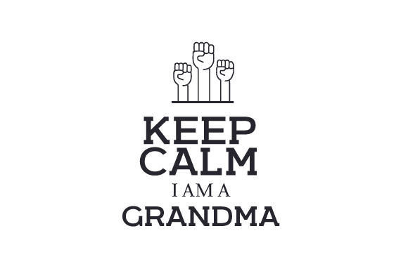 Download Free Keep Calm I Am A Grandma Svg Cut File By Creative Fabrica for Cricut Explore, Silhouette and other cutting machines.