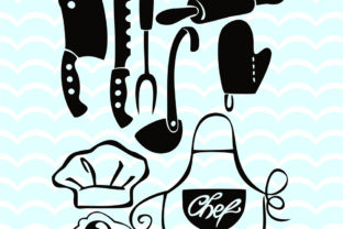 Download Free Kitchen Clipart Grafik Von Vector City Skyline Creative Fabrica for Cricut Explore, Silhouette and other cutting machines.