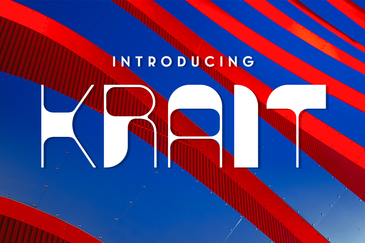 Print on Demand: Krait Decorative Font By Typodermic