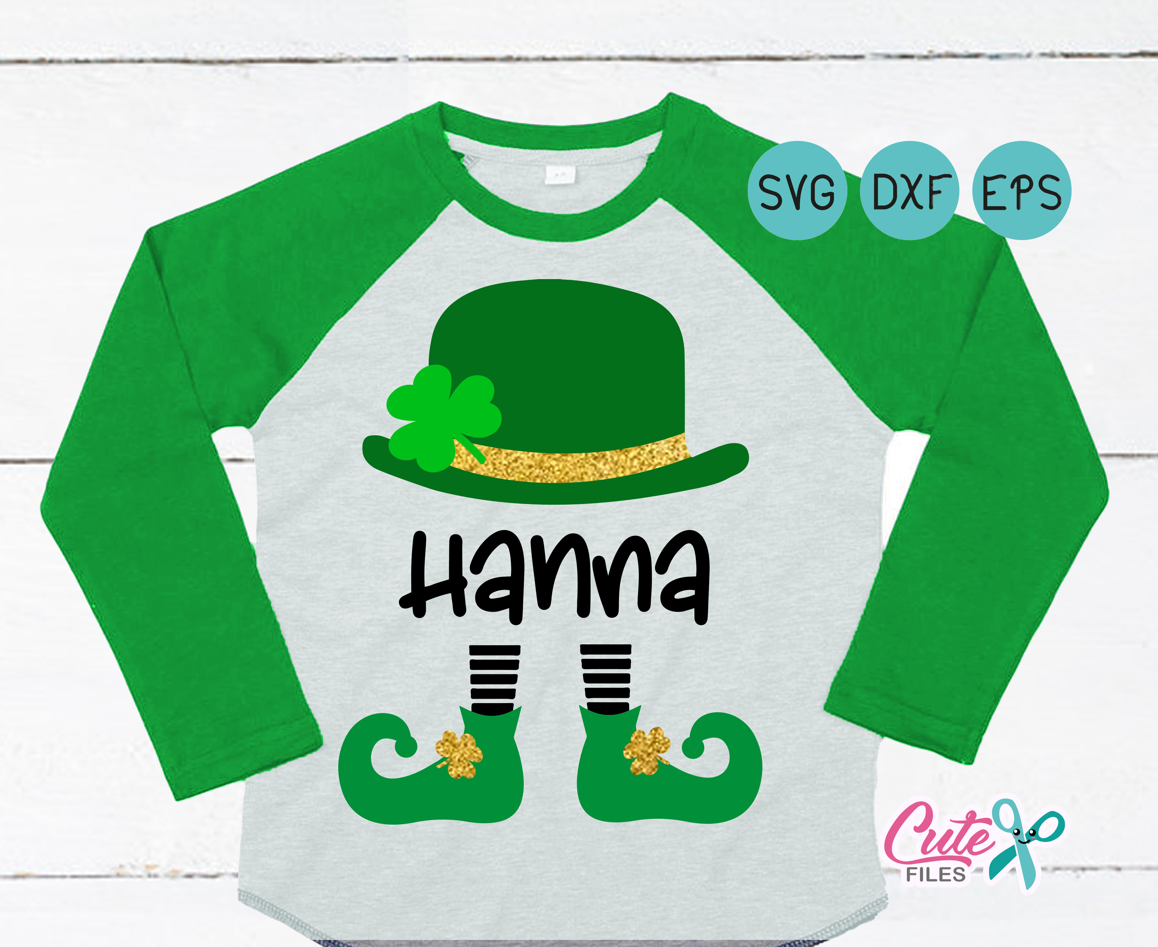 Download Free Leprechaun Graphic By Cute Files Creative Fabrica for Cricut Explore, Silhouette and other cutting machines.