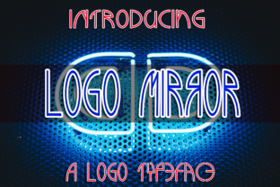 Logomirror Font By Boombage