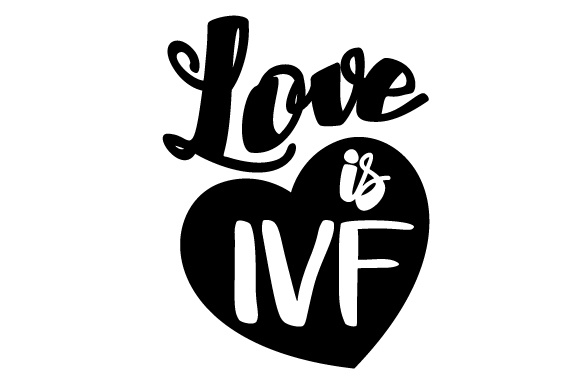 Love Is Ivf Svg Cut File By Creative Fabrica Crafts