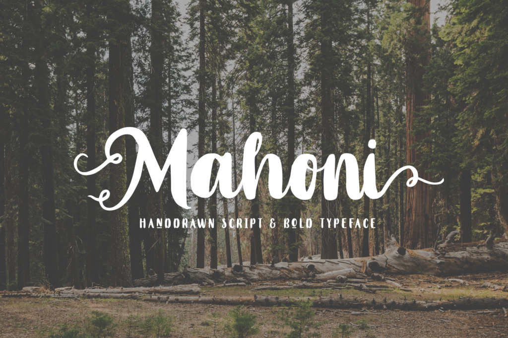 Download Free Mahoni Font By Dikas Studio Creative Fabrica for Cricut Explore, Silhouette and other cutting machines.