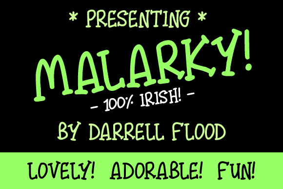 Print on Demand: Malarky Script & Handwritten Font By Dadiomouse