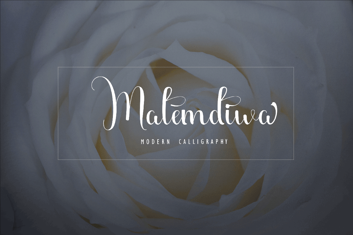 Print on Demand: Malemdiwa Script & Handwritten Font By Juniors