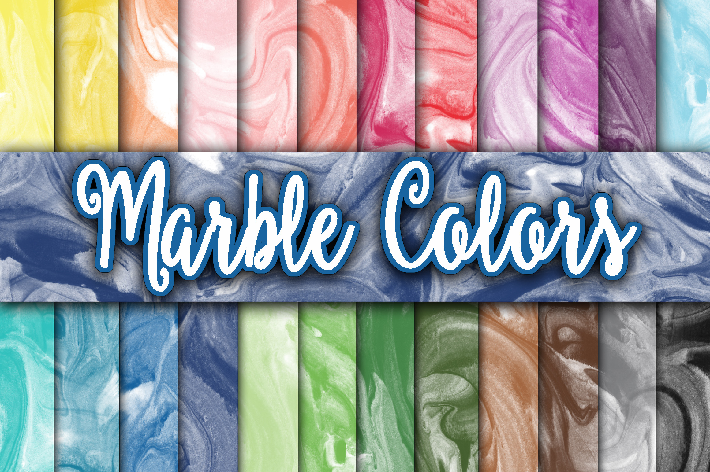 Download Free Marble Colors Digital Paper Textures Graphic By Oldmarketdesigns for Cricut Explore, Silhouette and other cutting machines.