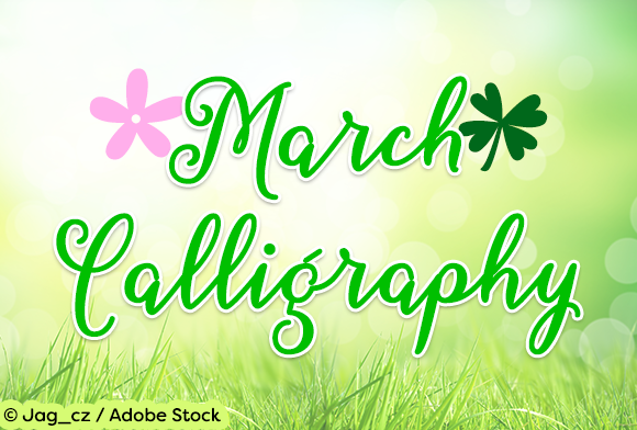 Print on Demand: March Calligraphy Script & Handwritten Font By Misti - Image 1