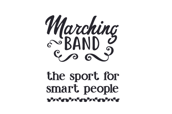 Download Free Marching Band The Sport For Smart People Svg Cut File By SVG Cut Files