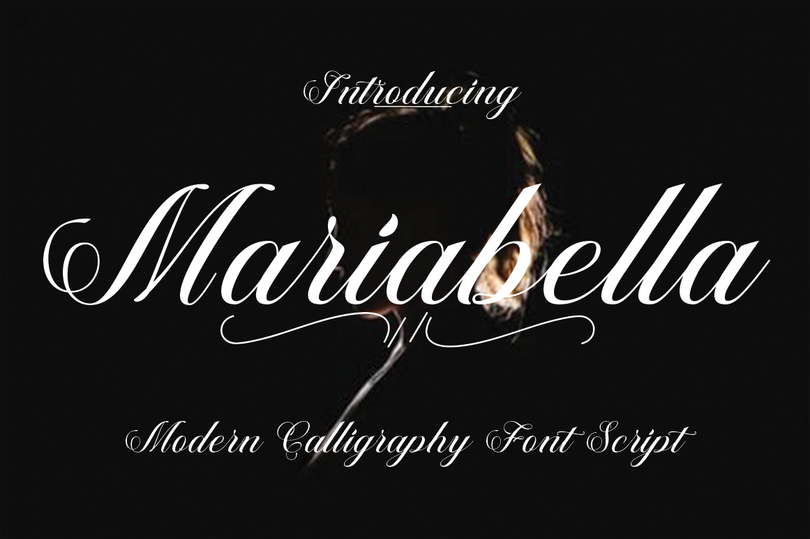 Print on Demand: Mariabella Script & Handwritten Font By Naqsya.Co