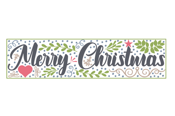 Merry Christmas Christmas Craft Cut File By Creative Fabrica Crafts