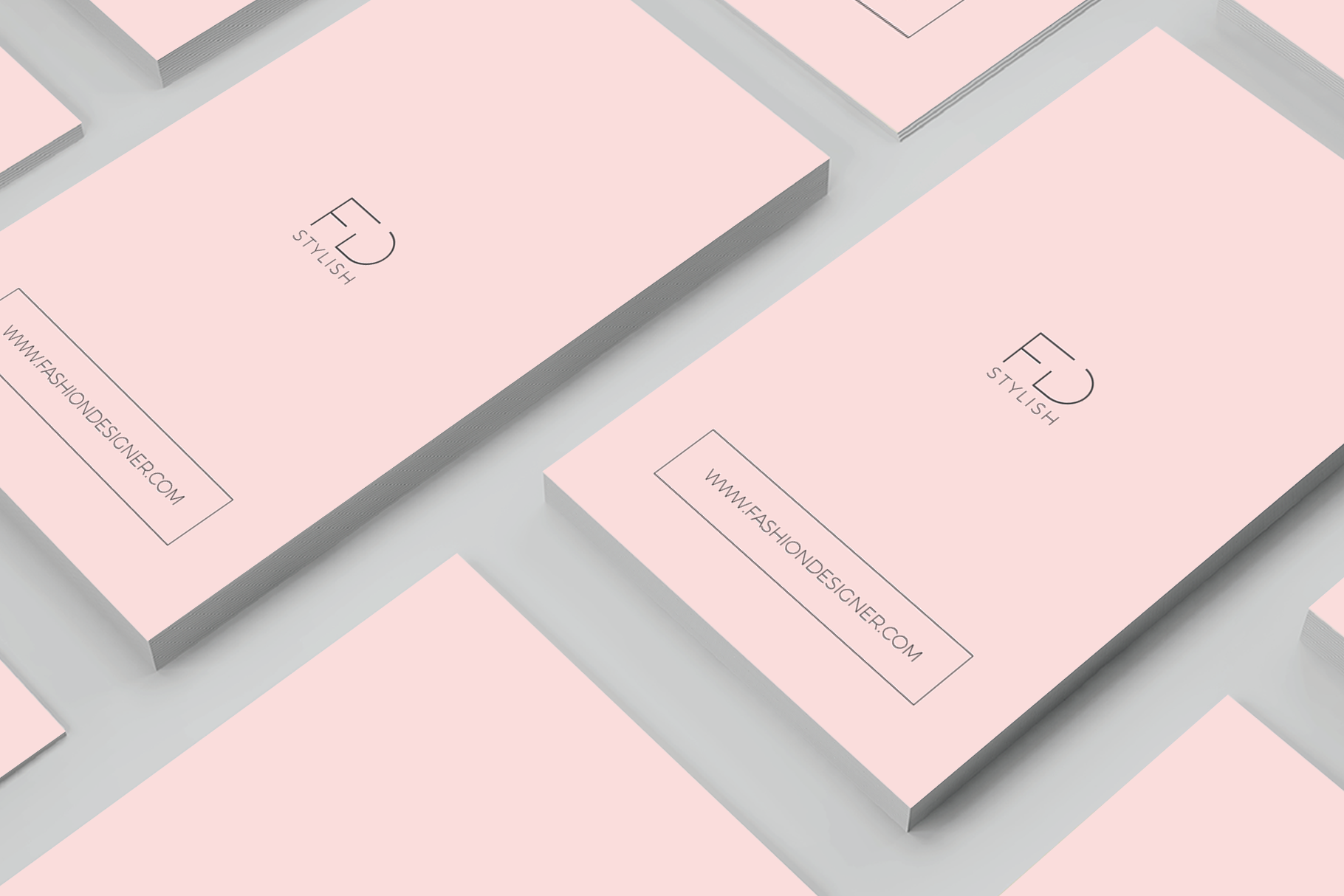 Print on Demand: Minimalist Business Cards Graphic Print Templates By onedsgn - Image 4