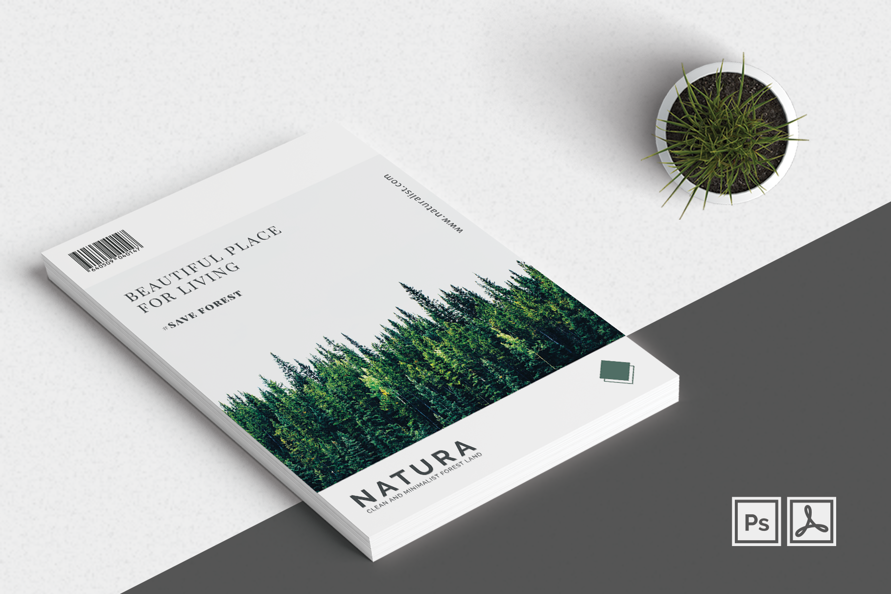 Print on Demand: Minimalist Flyer Vol. 01 Graphic Print Templates By onedsgn