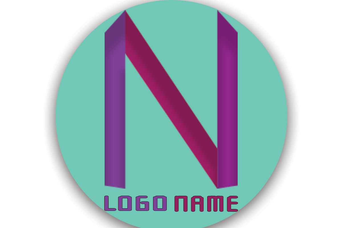 N Logo Letter Graphic By Boombage