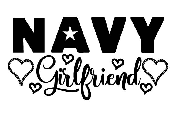 Navy Girlfriend Military Craft Cut File By Creative Fabrica Crafts - Image 2