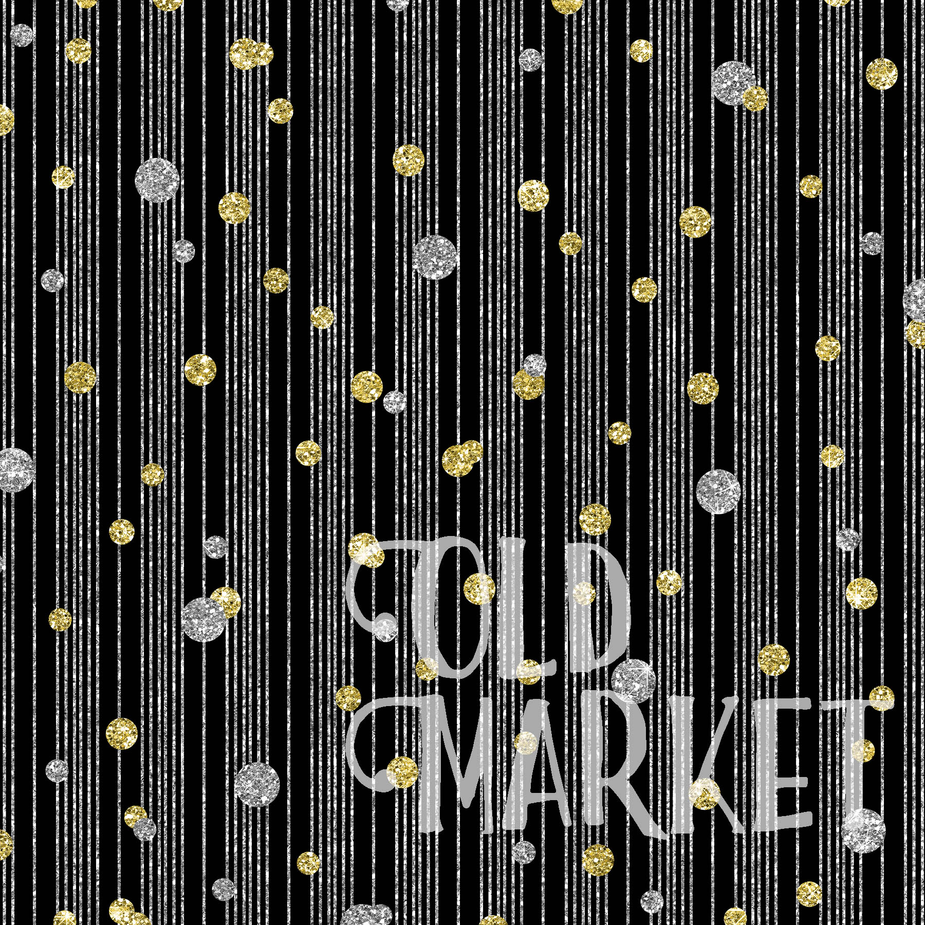 New Year Glitter Digital Paper Graphic Backgrounds By oldmarketdesigns - Image 3
