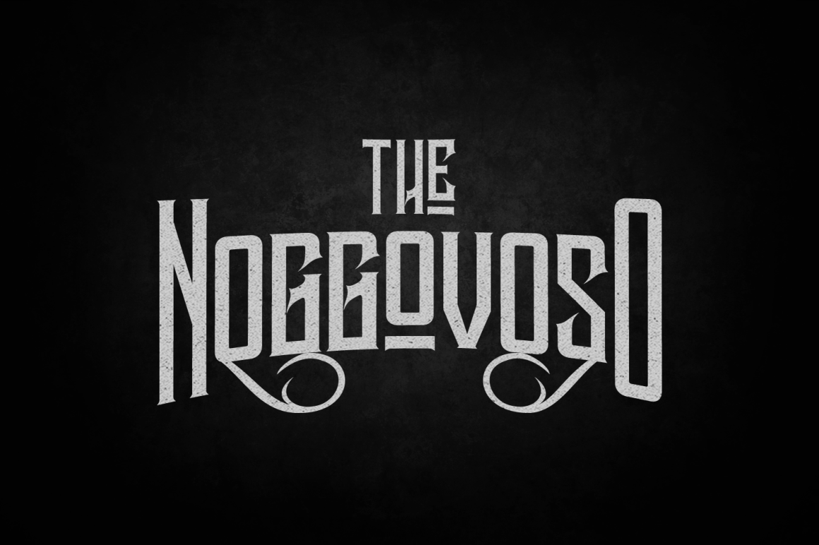 Print on Demand: Noggovoso Decorative Font By tamaputra