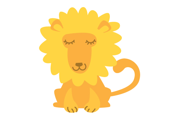Nursery Lion Baby Craft Cut File By Creative Fabrica Crafts