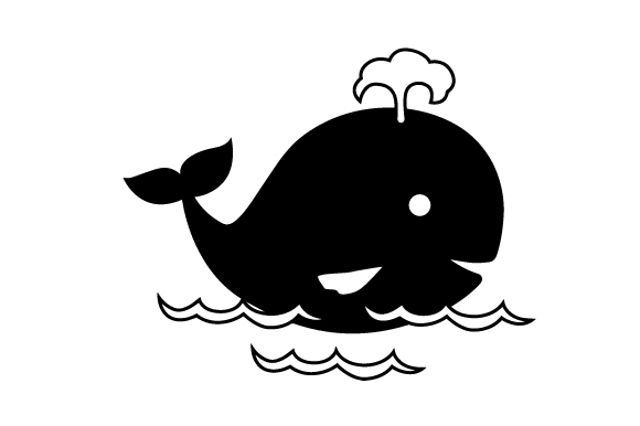 Download Free Nursery Whale Svg Cut File By Creative Fabrica Crafts Creative for Cricut Explore, Silhouette and other cutting machines.
