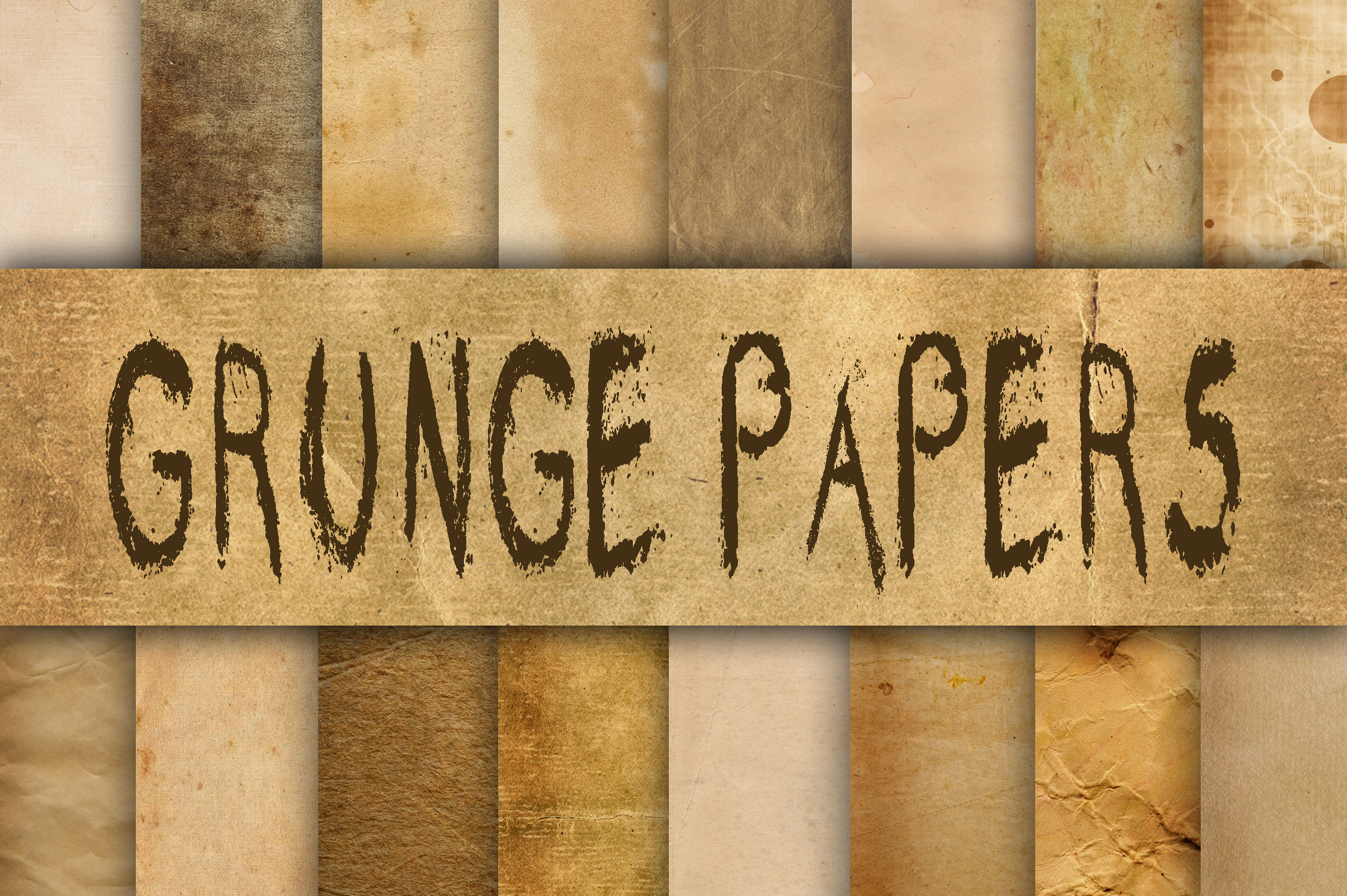Download Free Old Grunge Paper Textures Digital Paper Graphic By for Cricut Explore, Silhouette and other cutting machines.