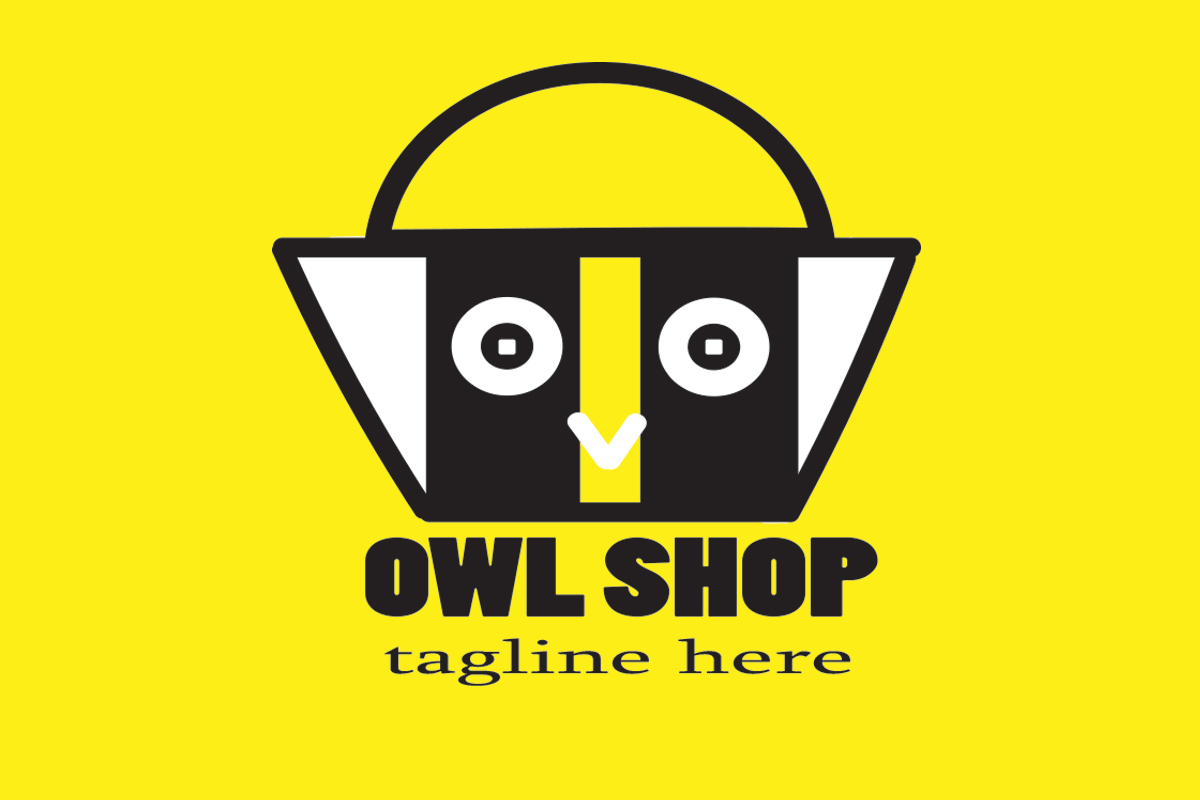 Download Free Owl Shop Graphic By Komsayncreative Creative Fabrica for Cricut Explore, Silhouette and other cutting machines.
