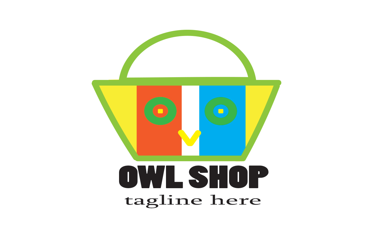 Owl Shop Graphic By Boombage