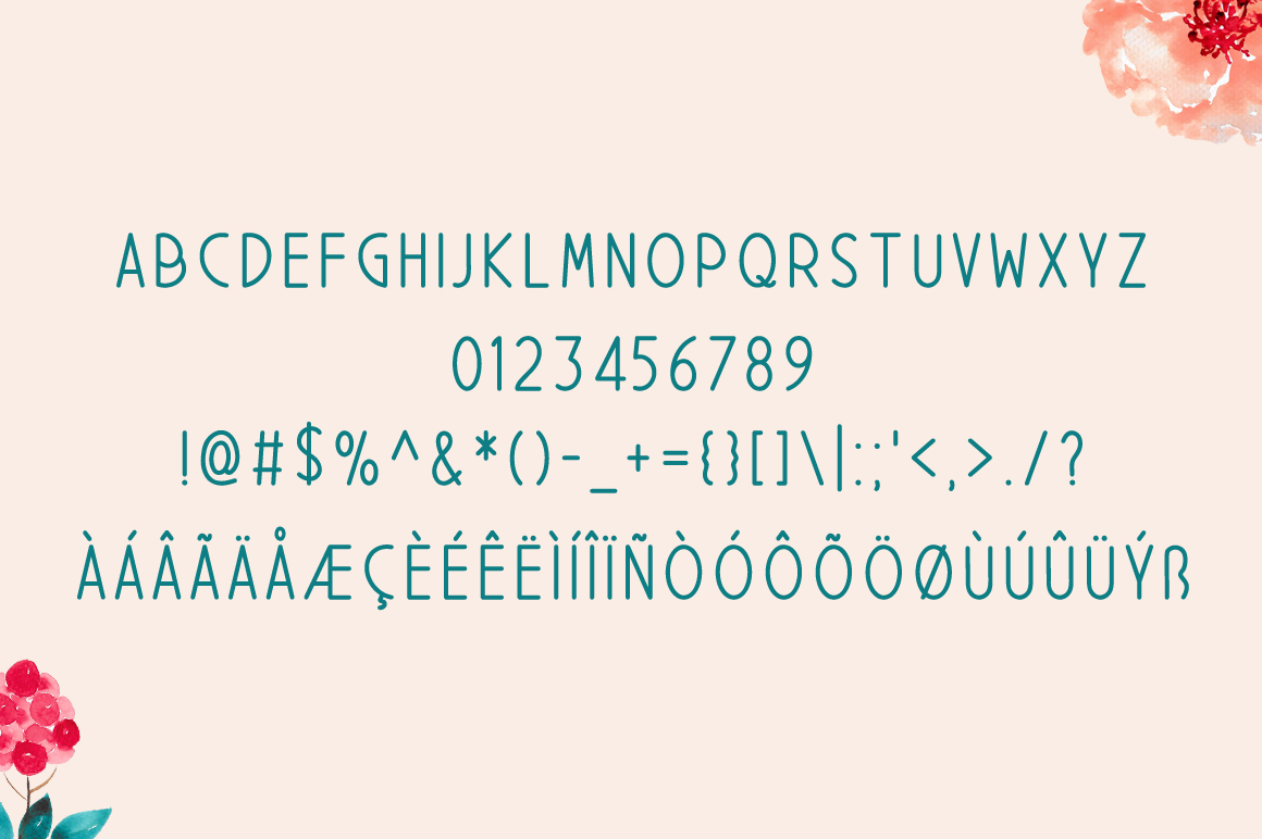 Print on Demand: Pabicop Display Font By Contour Fonts - Image 5