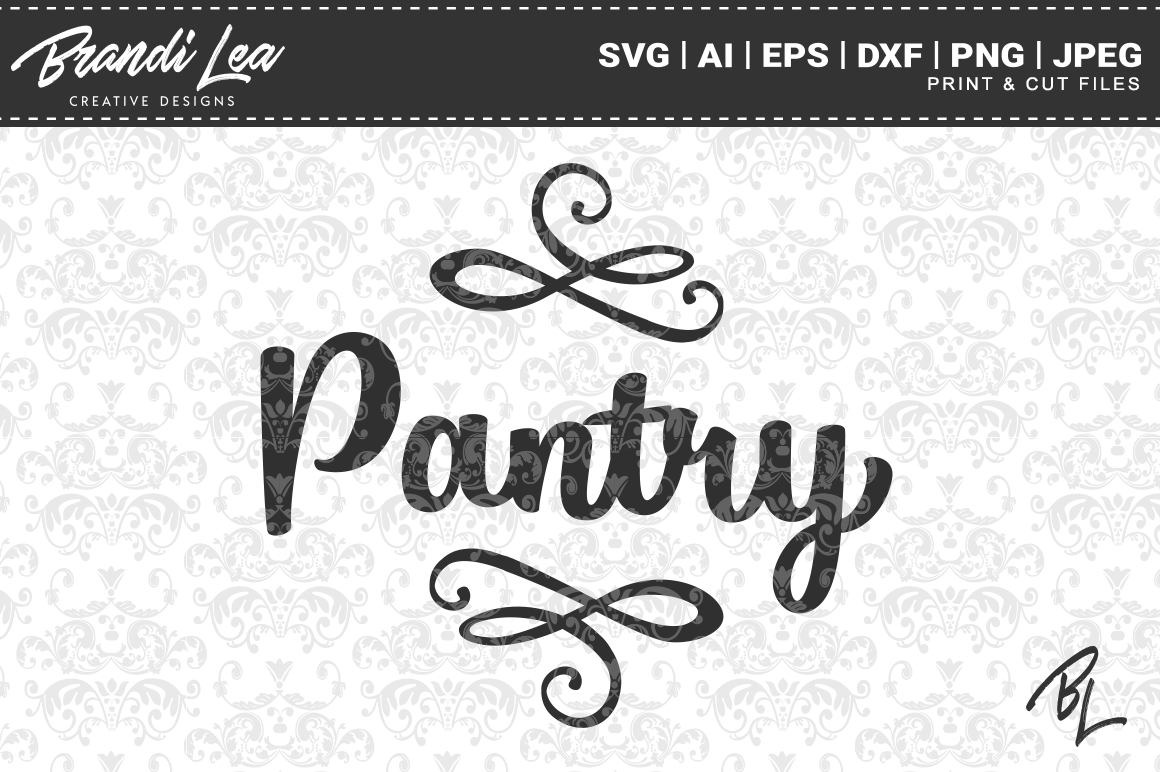 Download Free Pantry Files Graphic By Brandileadesigns Creative Fabrica for Cricut Explore, Silhouette and other cutting machines.