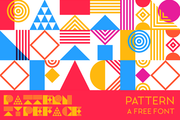 Print on Demand: Pattern Font Font By Creative Fabrica Freebies - Image 1